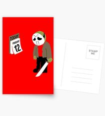 Friday The 13th Parody Postcards