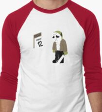 Friday The 13th Parody Men's Baseball ¾ T-Shirt