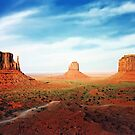 West Mitten East Mitten and Merrick Butte by paolo1955
