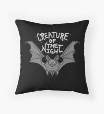 Creature of the Night Floor Pillow