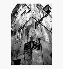 Alfama Street Corner Photographic Print
