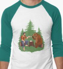 Gentleman's Tea - Color Men's Baseball ¾ T-Shirt