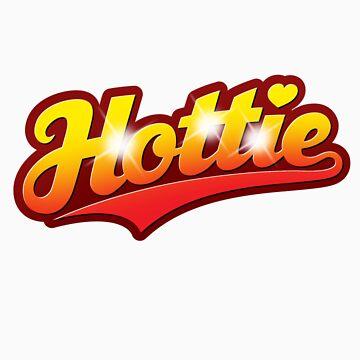 Hottie - sticker by GerbArt