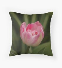 Pink in the Middle Throw Pillow