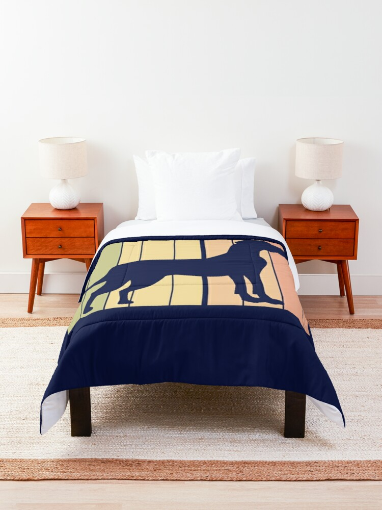 Alternate view of Funny Cute Great Dane Comforter