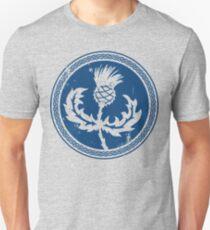 Thistle & Braid - Blue Slim Fit T-Shirt