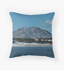 Granite Mountain- Prescott, AZ Throw Pillow