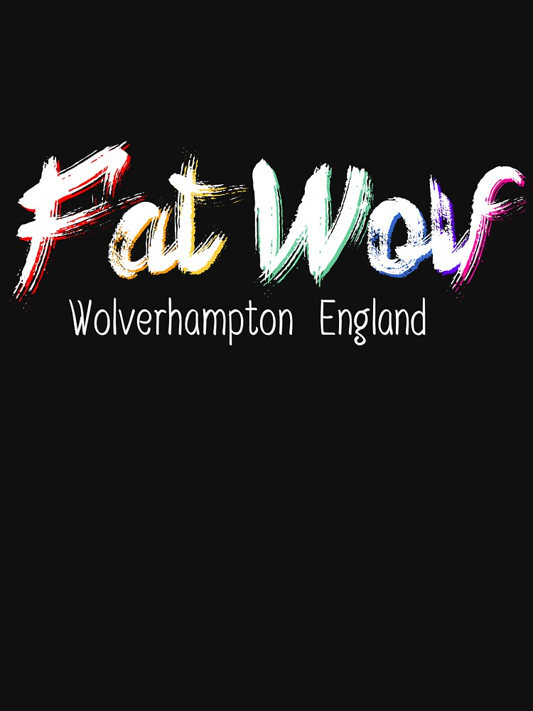 Fat Wolf - Chunky White by danbadgeruk