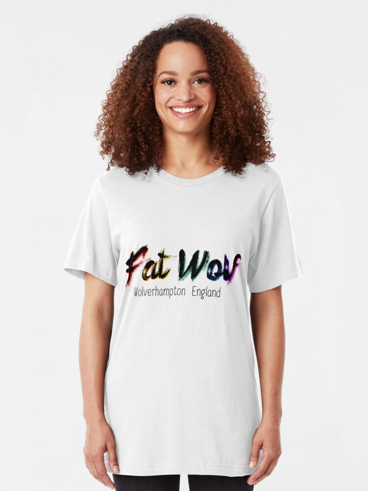 Alternate view of Fat Wolf - Chunky Slim Fit T-Shirt