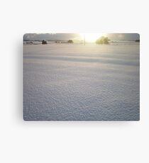 December Days - Aberdeenshire Canvas Print