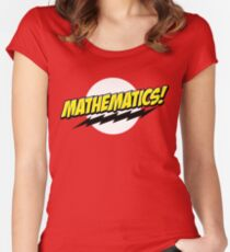 Mathematics! Women's Fitted Scoop T-Shirt