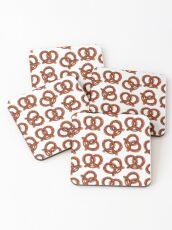 Pretzels Coasters