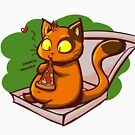 Pizza Cat by kingsandqueens