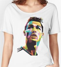 CR7 art Women's Relaxed Fit T-Shirt