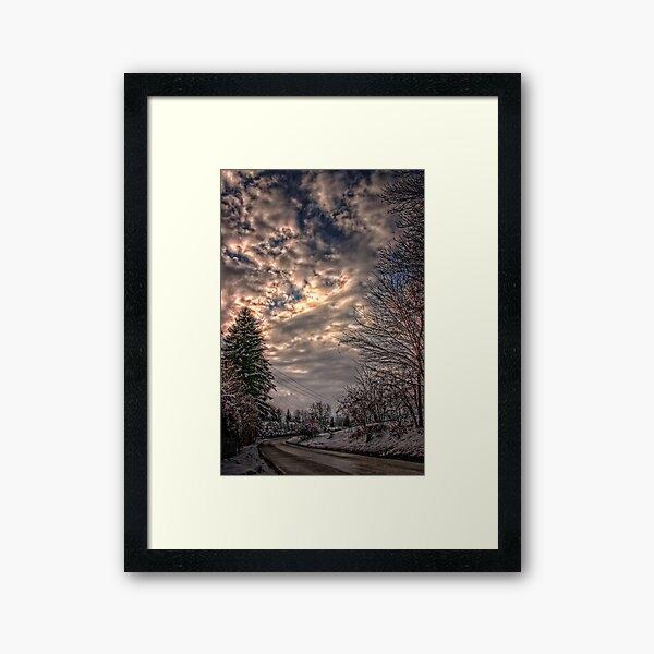 Kinkade Framed Art Print