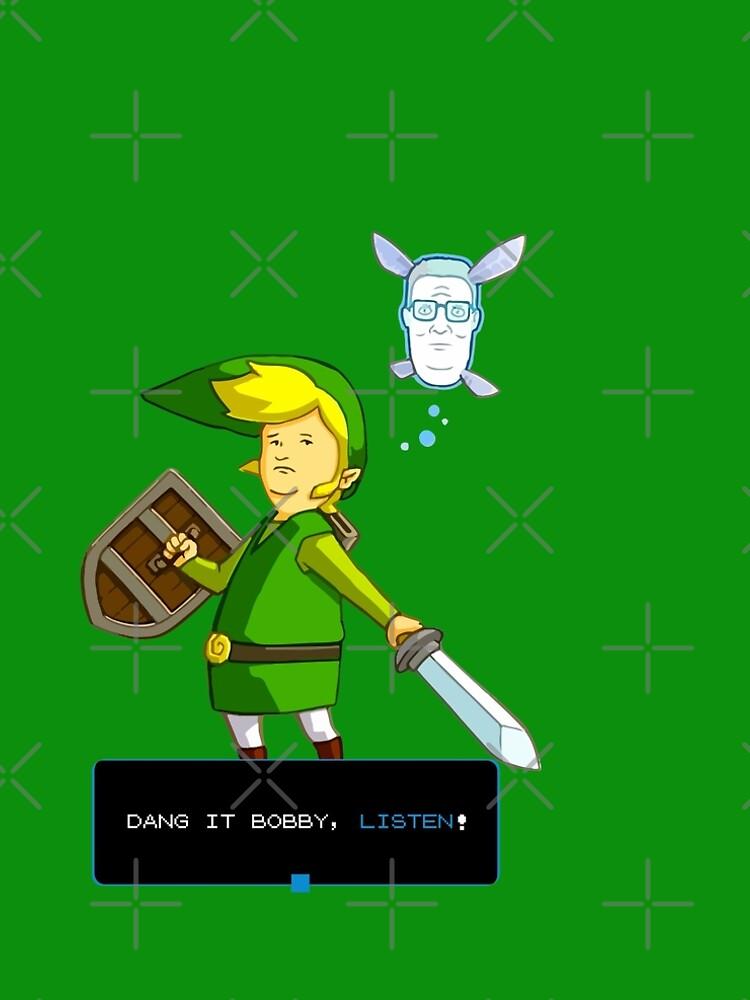 Rey de la colina - Enlace de Zelda y Navi - Parodia - Dang it Bobby, escucha! de WishingInkwell