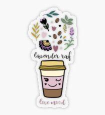 Lavender raf Transparent Sticker