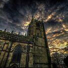 Dusk At Loughborough Church by Yhun Suarez