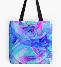 ST-Arclight Hologram Pattern Tote Bag