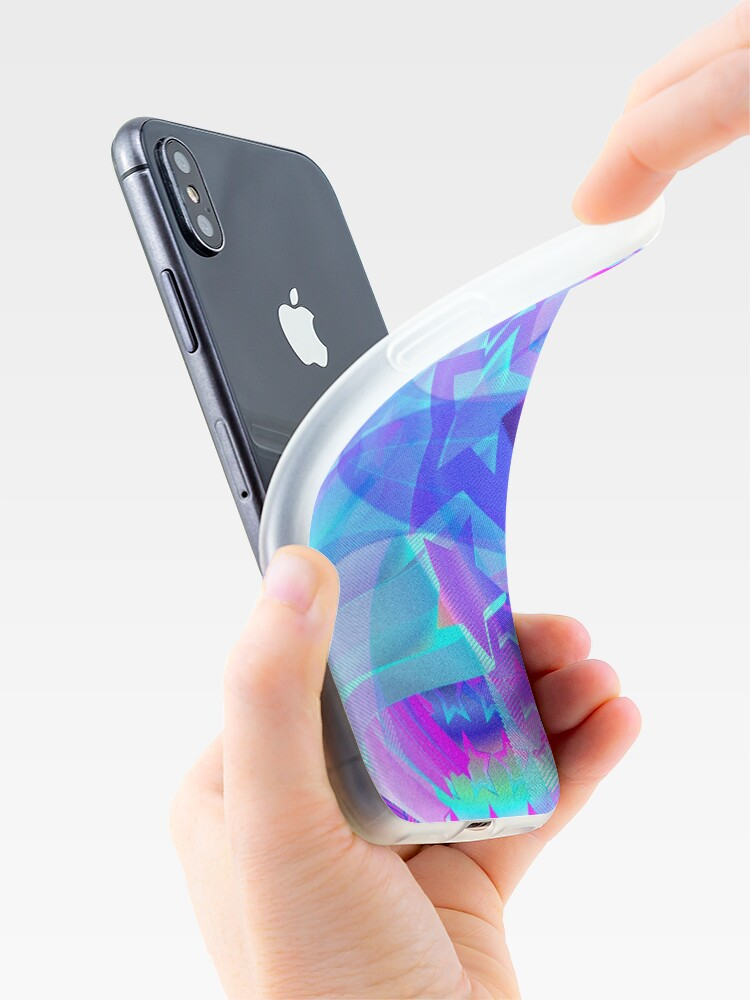 Alternate view of ST-Arclight Hologram Pattern iPhone Case & Cover