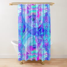 ST-Arclight Hologram Pattern Shower Curtain