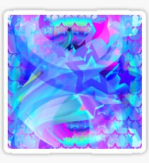 ST-Arclight Hologram Pattern Glossy Sticker