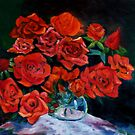 Roses are red my love.... by Racheli