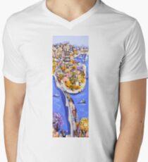 Riverside Mens V-Neck T-Shirt
