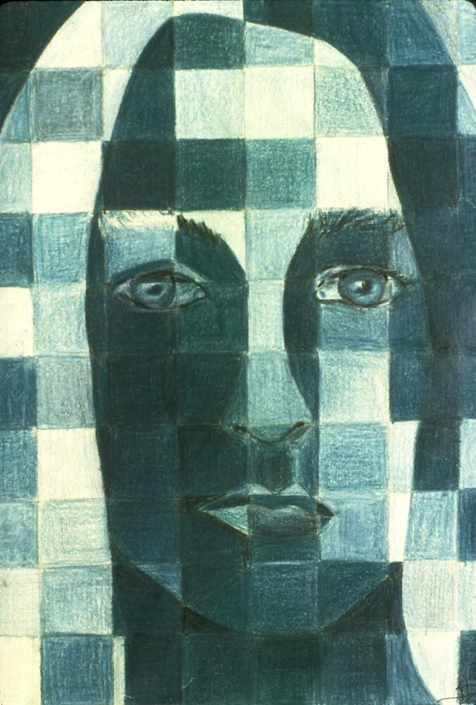 Pixel Self Portrait by Tiff Randol