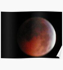 Solstice Lunar Eclipse Poster