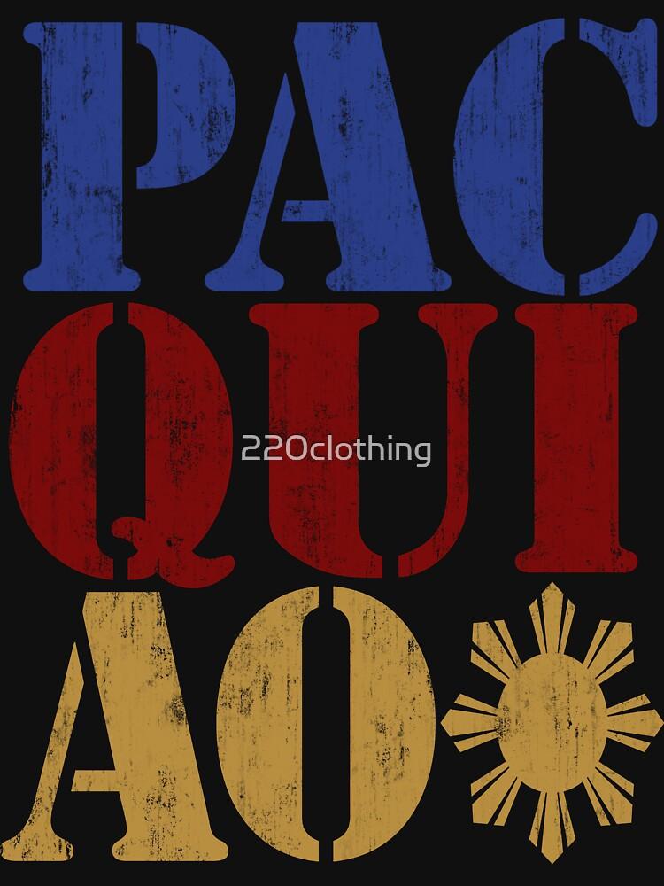 PACQUIAO von 220clothing
