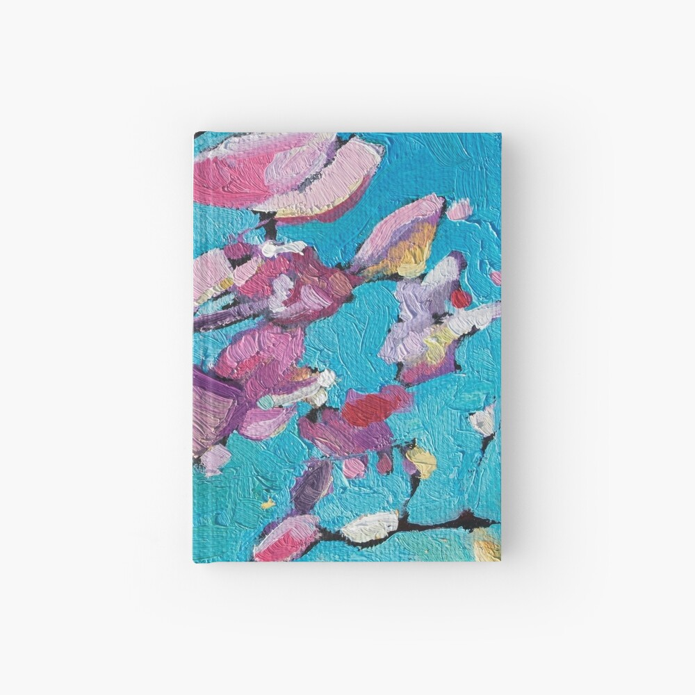 Cherry Blossoms Hardcover Journal