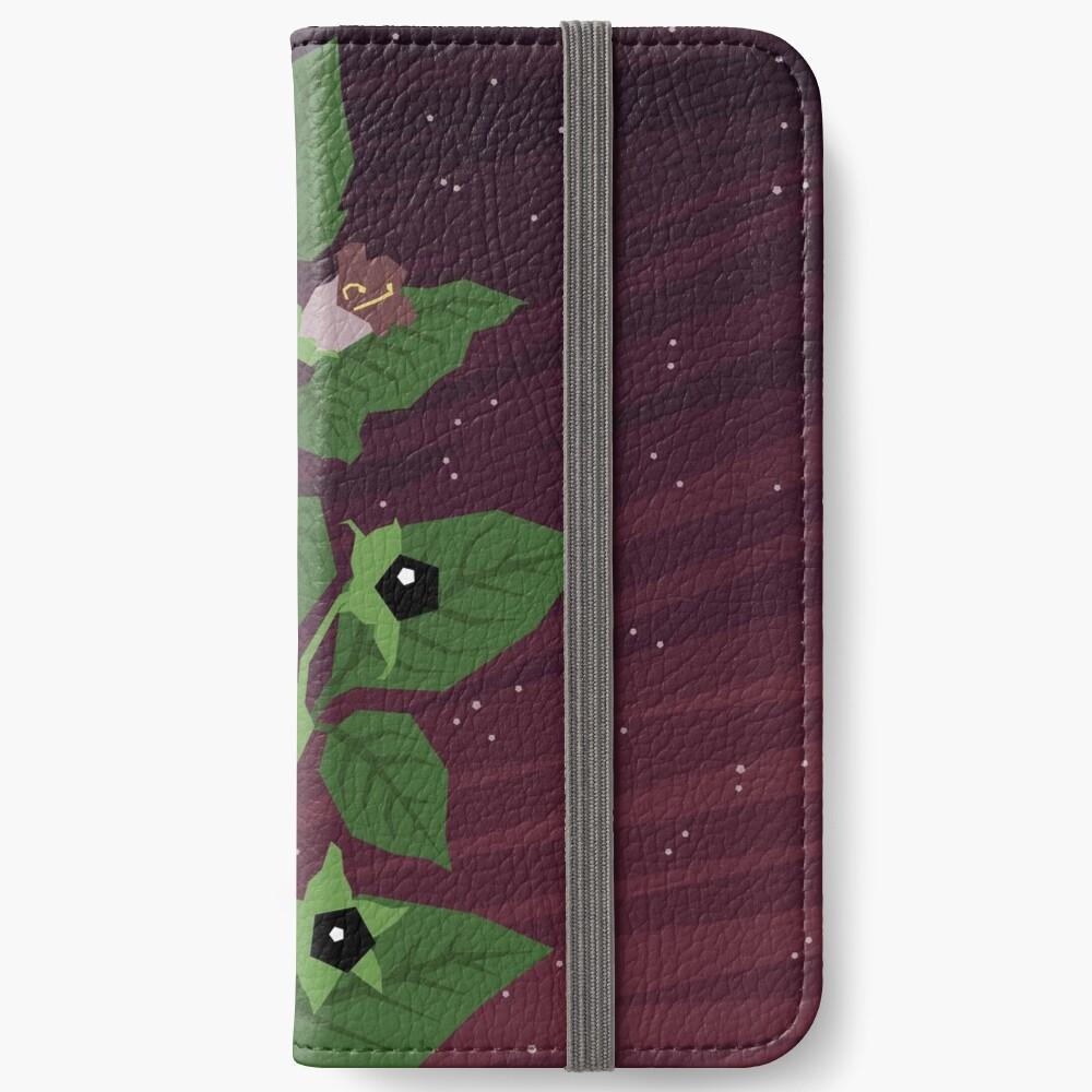 Deadly Nightshade iPhone Wallet