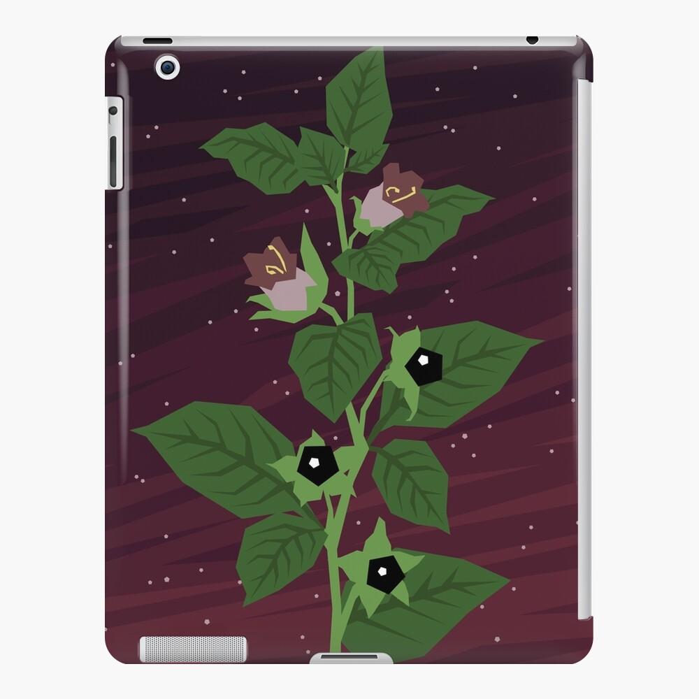 Deadly Nightshade iPad Snap Case