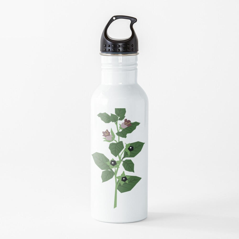 Deadly Nightshade Water Bottle