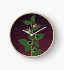 Deadly Nightshade Clock