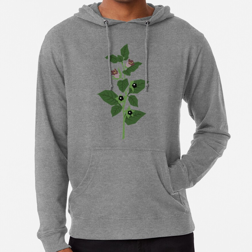 Deadly Nightshade Lightweight Hoodie