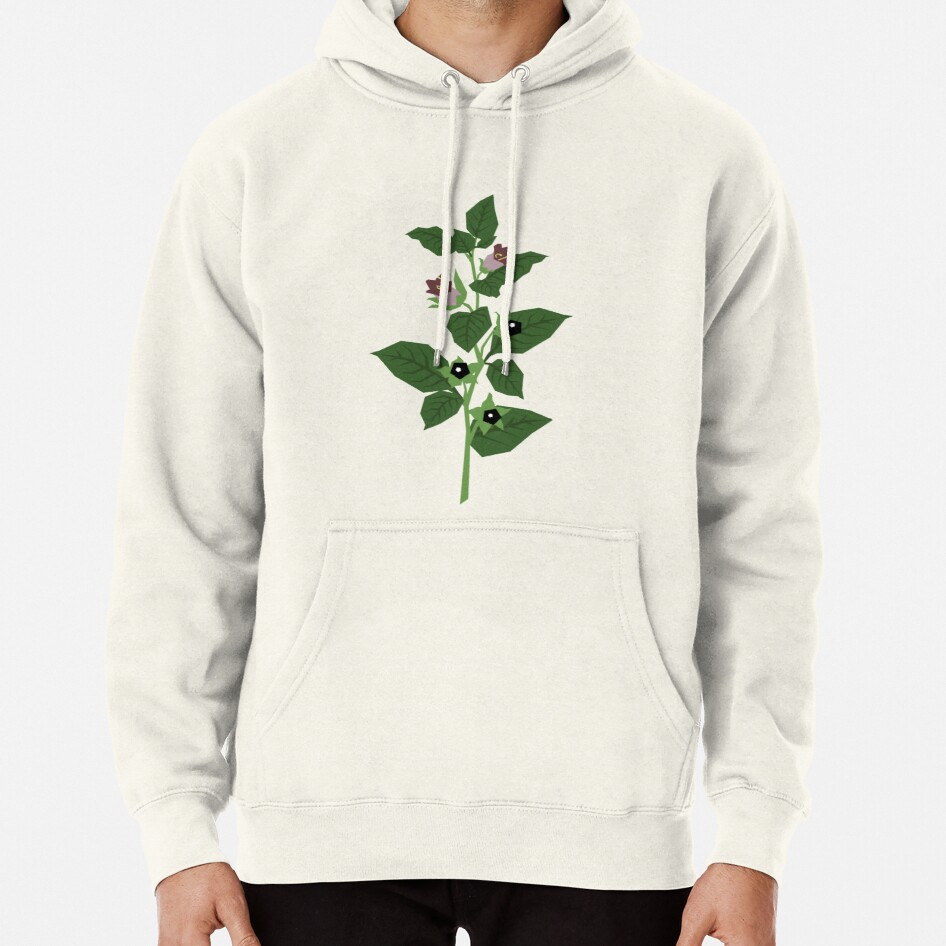 Deadly Nightshade Pullover Hoodie