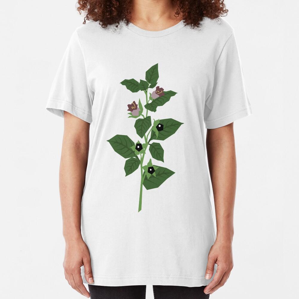 Deadly Nightshade Slim Fit T-Shirt