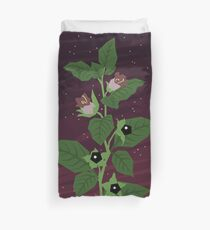 Deadly Nightshade Duvet Cover