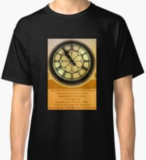 The Clock in the Plaza Classic T-Shirt
