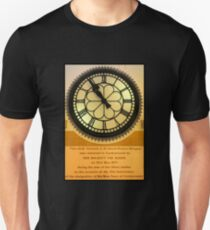 The Clock in the Plaza Unisex T-Shirt