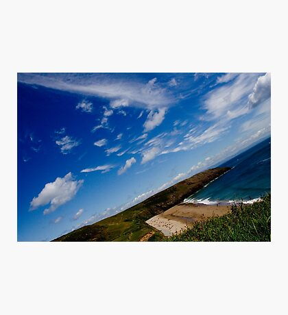 Love Beach in the Summer Photographic Print