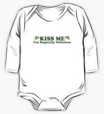 Kiss Me I'm Irish One Piece - Long Sleeve
