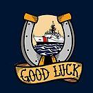 Coast Guard Good Luck - National Security Cutter by AlwaysReadyCltv