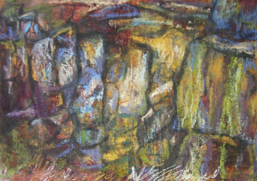 Cow and Calf 4 by Susan Duffey