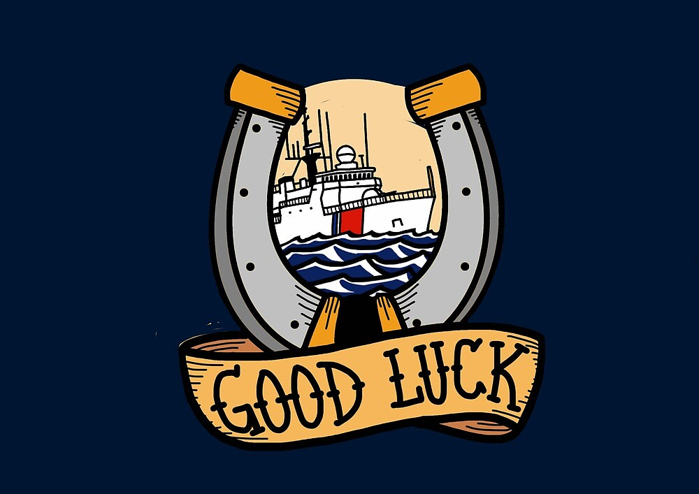 Coast Guard Good Luck - 270 WMEC by AlwaysReadyCltv