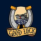 Coast Guard Good Luck - 47 MLB Motor Lifeboat  by AlwaysReadyCltv