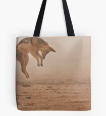 Flying in fog Tote Bag