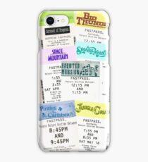 Magic Kingdom fastpass phone case iPhone Case/Skin